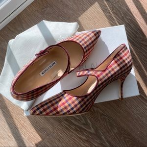 Manolo Blahnik Vintage Style Heels